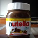 これがイタリアの味、Nutella。