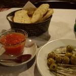 その日によってパンの種類が違うPan con tomate(パン コン トマテ)。でもおいしい。