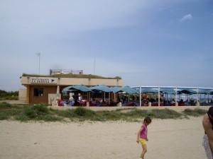 El Saler(エル サレール)のビーチ沿いにあるArroceria(お米料理専門店)、 Restaurant La Dehesa JOSÉ LUIS