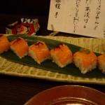 サーモンのお寿司。