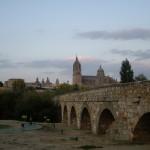 ローマ橋からの絶景。
