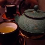 お茶もお湯を新しく足してくれました。
