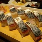 サバの押し寿司。
