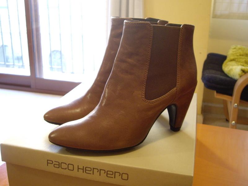 Paco Herreroのブーツ。