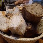 実はこの日の一等賞だったパンの盛り合わせ。
