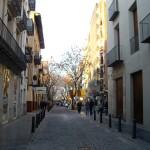 まだまだ静かなCalle Alta(カジェ・アルタ、アルタ通り)。15日辺りからはすごい人出になります。