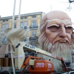 「レオナルド・ダ・ヴィンチと彼の発明品」って感じかな?