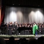 スペインの合唱団の方が日本語で2曲歌いました。
