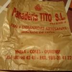 出店していたパン屋さんの紙袋・・・ものすごくかわいい。薪を使う釜で焼いているらしいです。