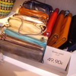 思わず買いそうになったかわいい革のバッグ。49.90ユーロ!