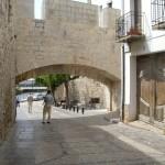 門を裏から見たところ。旧市街の中側です。