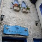 貝殻びっしりです。歴史的価値はないけれどとっても有名な建物です。