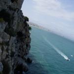 青い海とお金持ちのヨット!