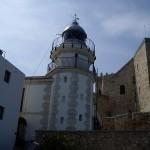 こちらがペニスコラの灯台。今でももちろん現役です。