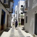 この日は良い天気でビーチは賑わっていたけれど、旧市街は静かでした。
