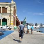 バレンシアのマリーナが会場。アメリカズカップ跡地です。