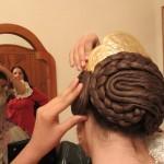 スターウォーズのレイア姫と同じ髪型です。
