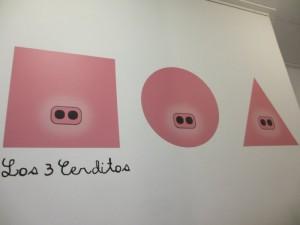 Los 3 certidos(ロス・トレス・セルディートス、三匹の子豚)です。