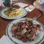 アンダルシア県に入ったら、食べ物の料が多くて安い!