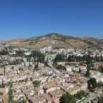 アルカサバからの眺め。