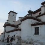 サン・ニコラス教会。こちらからアルハンブラとグラナダの夜景が楽しめます。