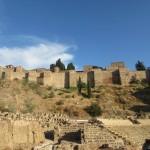 マラガのアルカサバ、一見アルハンブラ宮殿のようです。