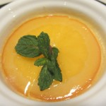 絶品オレンジのプリン。これ美味しくてバレンシア人が食べたらびっくりするんじゃないかなぁ。