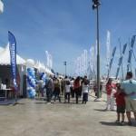 Valencia Boat Showの会場。
