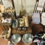 スペインの昔ながらの台所用具。