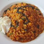 メインのお米料理。お勧めの鴨のスペイン風リゾット。濃厚でした。