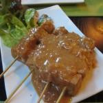 豆腐のサテ