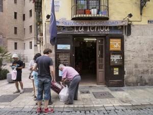 親子2代で頑張っているお店で、下町な雰囲気。