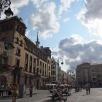 レオンの旧市街。