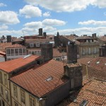 カテドラルの上から旧市街を撮影。