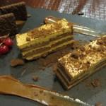 チョコレートとDulce de Lecheのデザート。