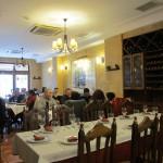 古き好きスペインと言った感じのレストラン。
