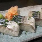 サバの押寿司