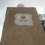 サンティアゴ巡礼路はこちらって標識がアバウトすぎる。