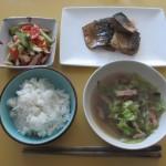 鯖の味噌煮定食!