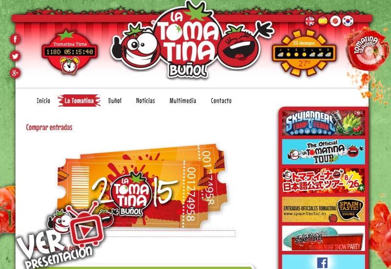 2015年のトマティーナ(トマト投げ祭り)チケット販売開始!