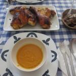 チキンのオーブン焼き。