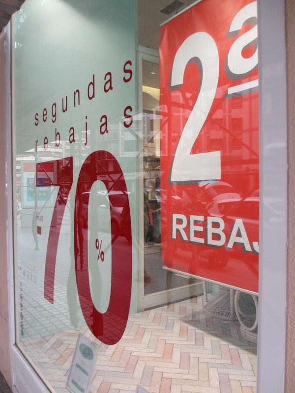 まだ始まったばかりなのに、もう早々第二弾セール(Segunda Rebajas)としているところも。