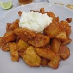 すごく美味しかったPatatas Bravas。ここ5年で一番!