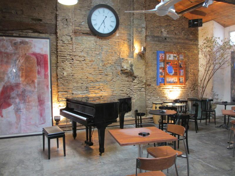 ライブに使うピアノ。