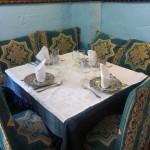 モロッコ風の素敵なテーブル。