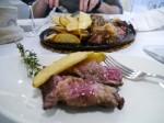スペインの赤身肉最高!