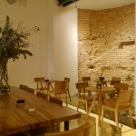 「Santa Eulalia Boulangerie Patisserie」(サンタ・エウラリア・ブーランジェリー・パティセリー)の店内。