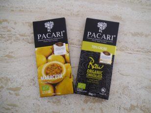 評価の高かったRaw 70%とパッションフルーツのビターチョコレート。
