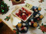デザートのフルーツ。