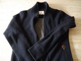AIGLEのジャケット。なぜここに売っている??